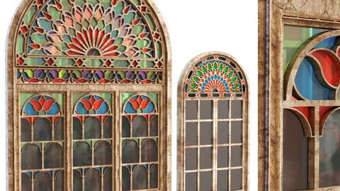 old turkish windows orosi set 137