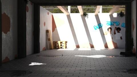 My Secret Place (DAZ3D)