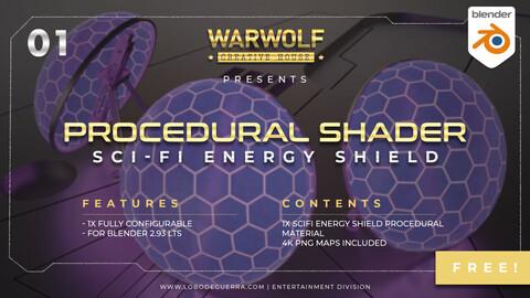 Warwolf SciFi Energy Shield 01