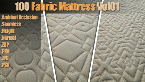 100 Fabric Mattress Vol01