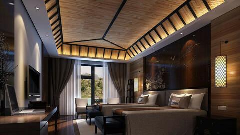 Luxurious stylish bedroom 26