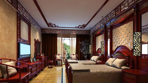 Luxurious stylish bedroom 27