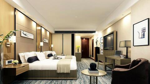 Luxurious stylish bedroom 28