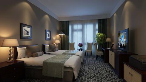 Luxurious stylish bedroom 29