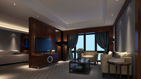 Luxurious stylish bedroom 31