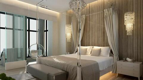 Luxury stylish interior master Bedroom - 01