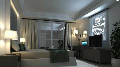 Luxury stylish interior master Bedroom - 02