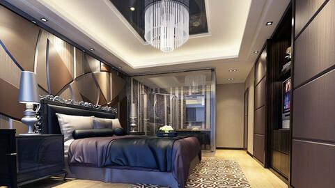 Luxury stylish interior master Bedroom - 03