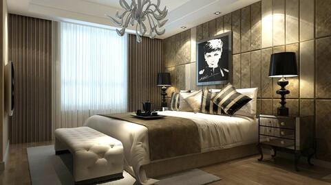 Luxury stylish interior master Bedroom - 06