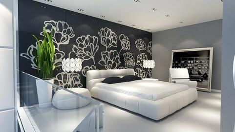 Luxury stylish interior master Bedroom - 07