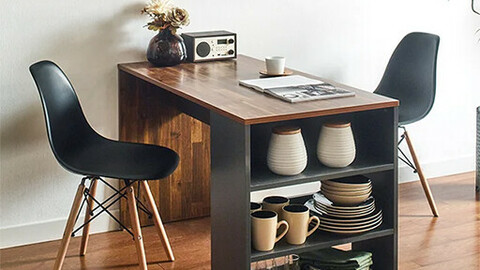 ART Acacia Dining Table Set for 2