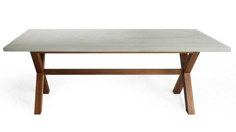 Concrete Plain Table