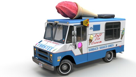 Ice Cream vintage truck