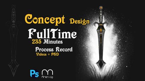 Sword-Concept design -Full time