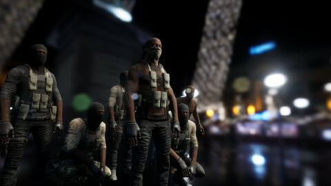 Character Military Bandit