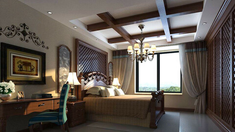Luxury stylish interior master Bedroom - 87