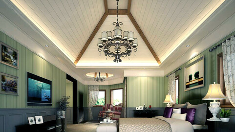 Luxury stylish interior master Bedroom - 88