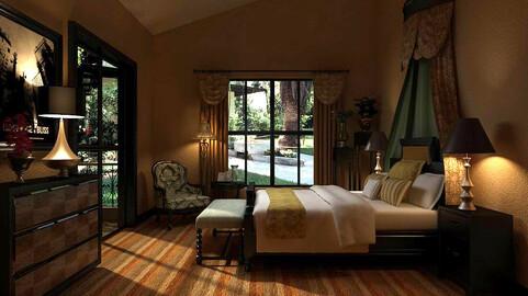Luxury stylish interior master Bedroom - 91