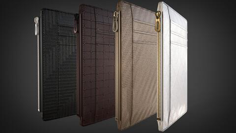 3D Wallet (4 color versions)