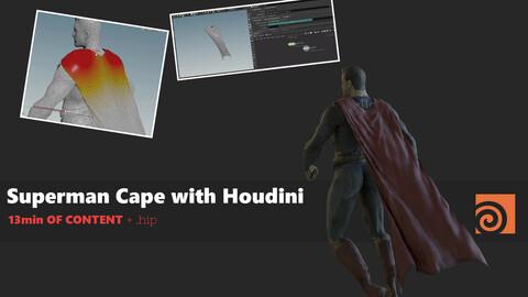 CFX Quick Houdini Tutorial 02 - Superman Cape