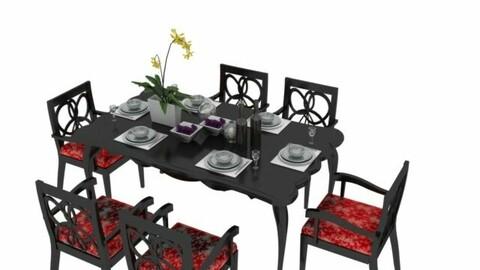 DINNING TABLE SCENE