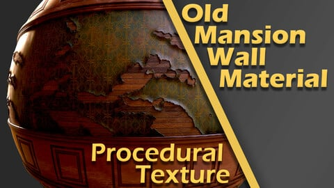 Old Mansion Wall Material