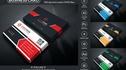 Business Card Design Template