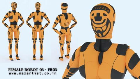 Female Robot 03 - FR03