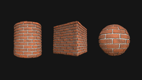 Stylized Wall 7 PBR Texture