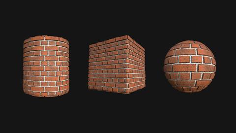 Stylized Wall 9 PBR Texture