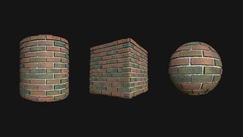 Stylized Wall 11 PBR Texture