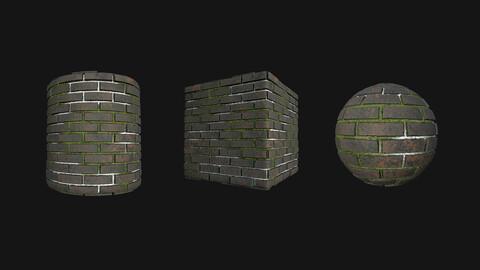 Stylized Wall 12 PBR Texture