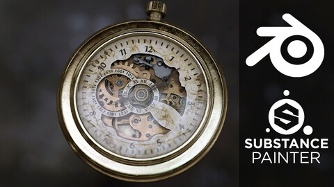 Create a Pocket Watch in Blender and Substance Painter