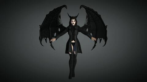 Fantasy Female Character 07 ( Succubus)
