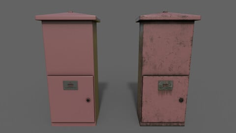 PBR Electric Box (Red) Ver.4