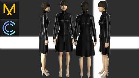 New concept Marvelous Clo3D Tactical Dress
