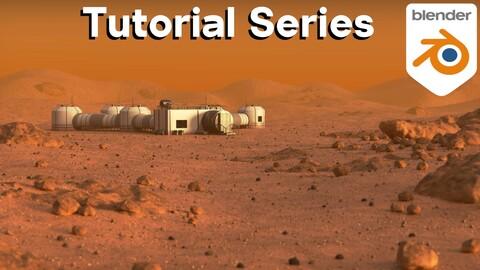 Martian Environment (Blender Tutorial Series)