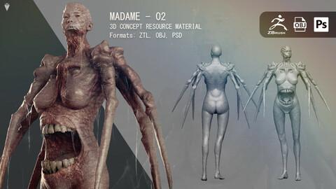Madame 02 - Resource Material
