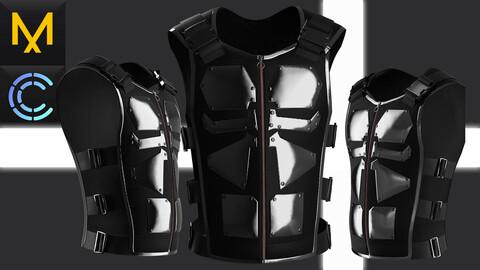 Tactical Vest Marvelous Clo3D