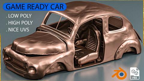 Base Mesh - Abandoned Car