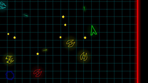 Neon Space Fighter - Unity Project