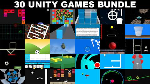 30 Games Bundle - Unity Source Code