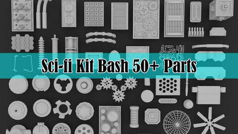 Sci-fi Kit Bash