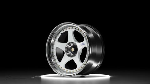 NISMO LMGT2 Car wheel 3D model