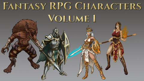 Fantasy RPG Character Pack - Volume 1