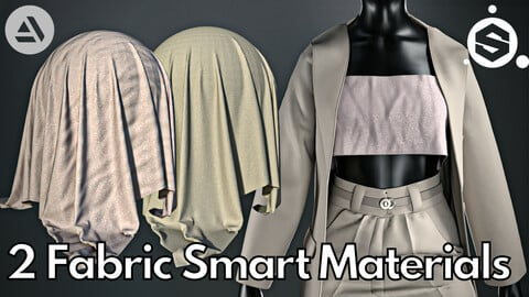 2 Fabric smart material : Minimal outfit