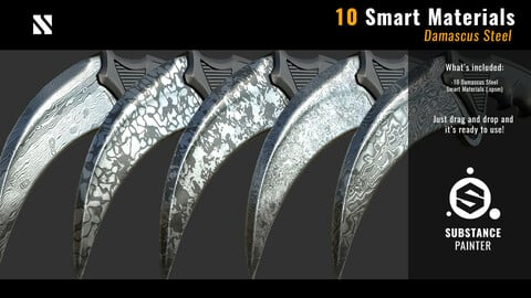 10 Damascus Steel - Smart Materials