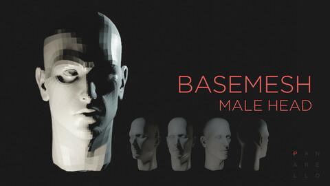 Male head basemesh