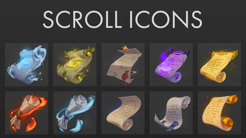 Scroll Icons Pack