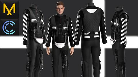 New concept Marvelous Clo3D Outfit Male #26